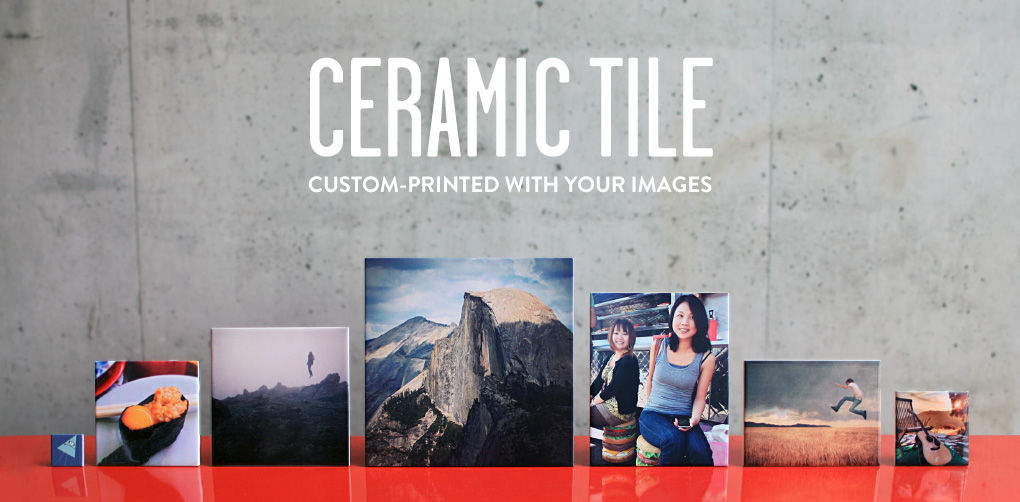 Custom-Printed Ceramic Photo Tile